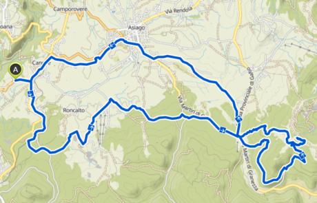 Itinerari MTB - E-BIKE per tutti - Asiago e Altopiano Sette Comuni